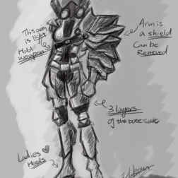 Character Concept for Terra4orm