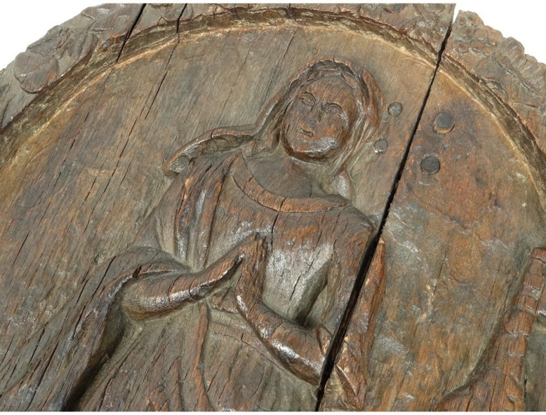 panel-carved-woman-angelus-bell-alsace-town-schalbach-15th-16th